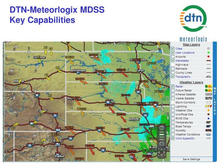 DTN-Meteorlogix MDSS