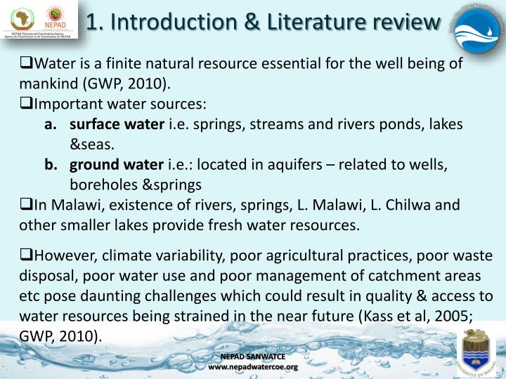 1. Introduction & Literature review