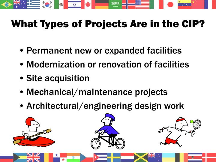 What Types of Projects Are in the CIP?