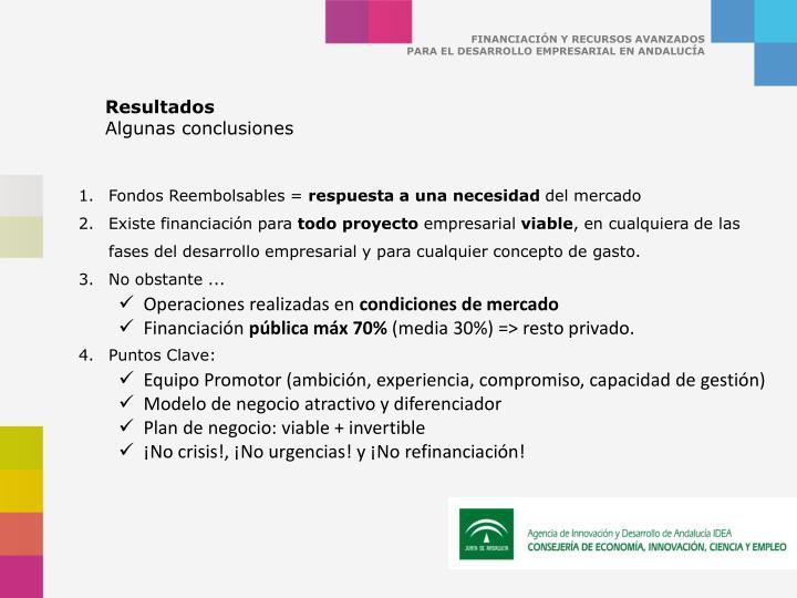 FINANCIACIÓN Y RECURSOS AVANZADOS