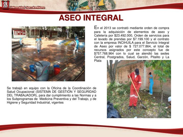 ASEO INTEGRAL