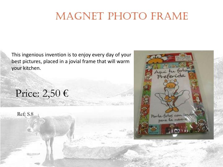 Magnet photo frame