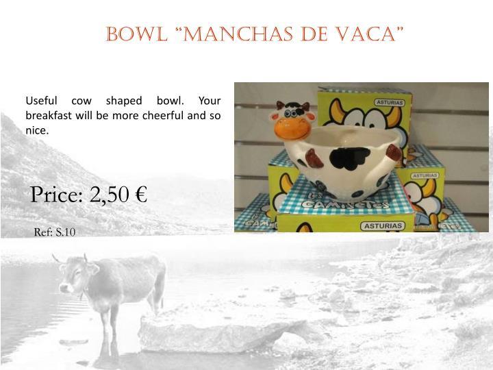 """Bowl """"MANCHAS DE VACA"""""""