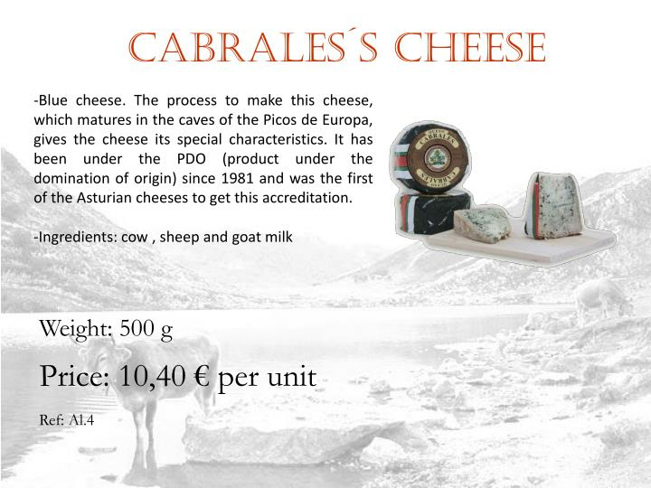 Cabrales´s cHEESE