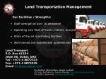 land transportation management1