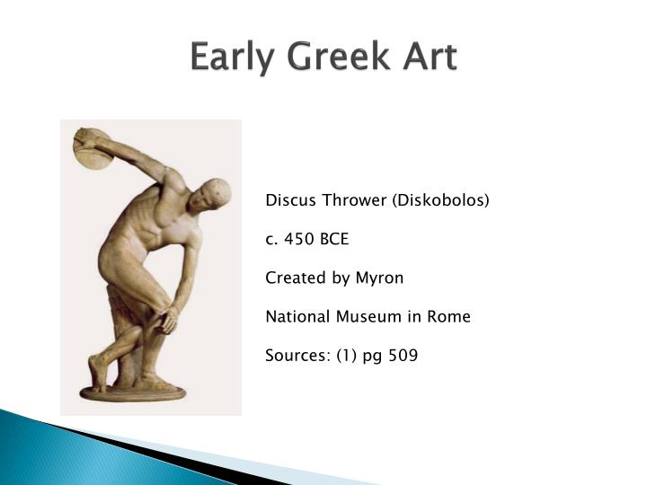 Early Greek Art