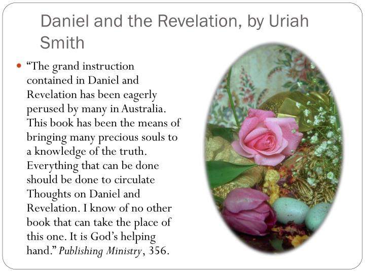 Daniel and the Revelation, by Uriah Smith