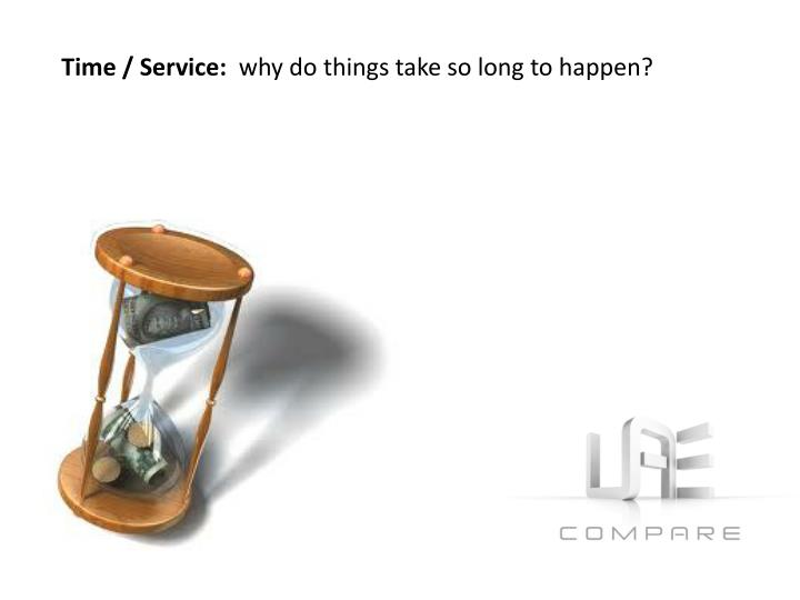 Time / Service: