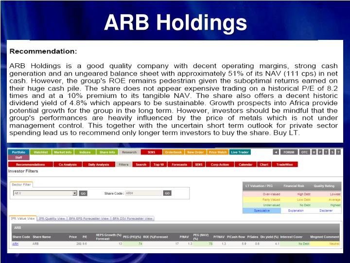 ARB Holdings