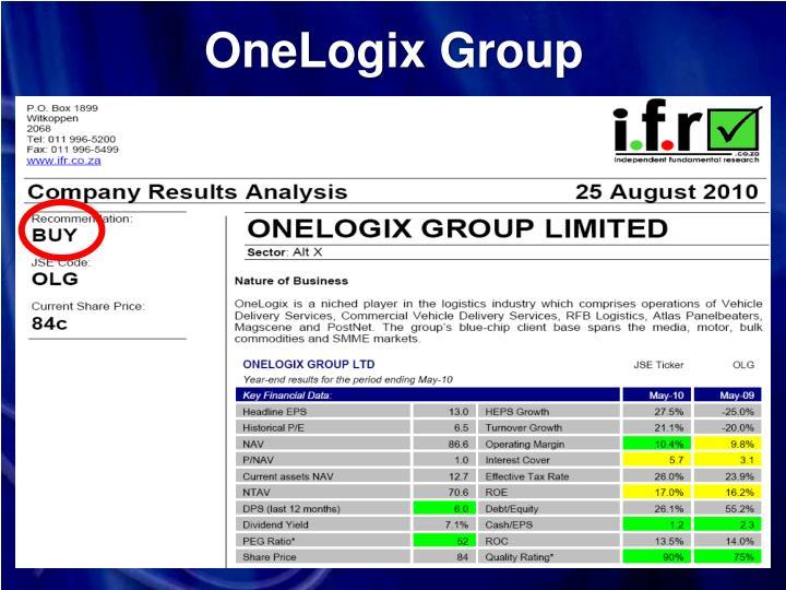 OneLogix