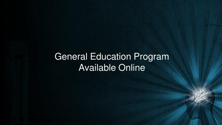 General Education Program