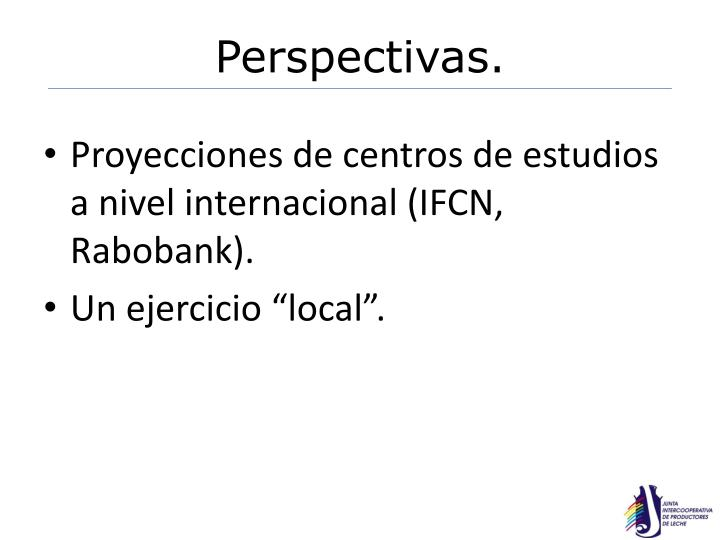 Perspectivas.