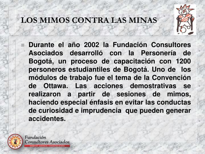 LOS MIMOS CONTRA LAS MINAS