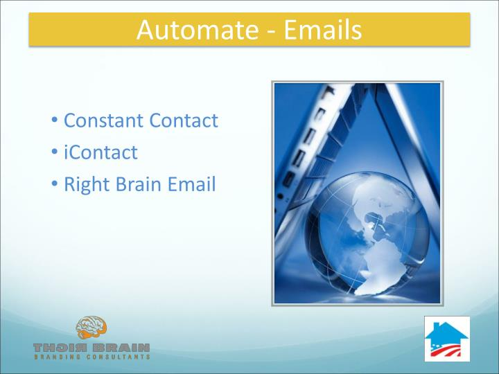 Automate - Emails