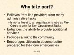 why take part
