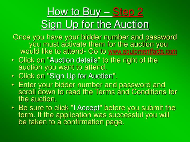 How to Buy –