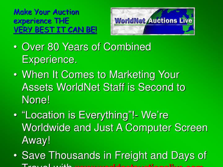 Make Your Auction