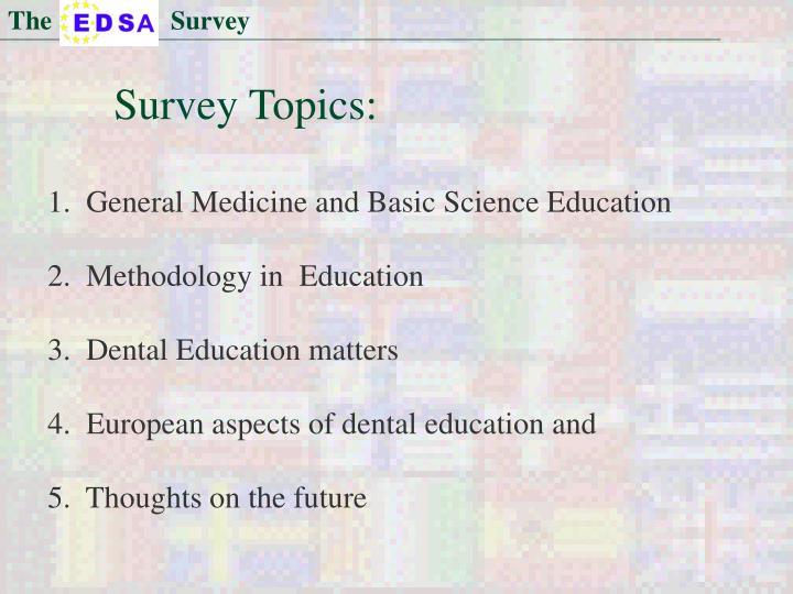 The                  Survey