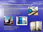 pro tec 820 for decorative glass