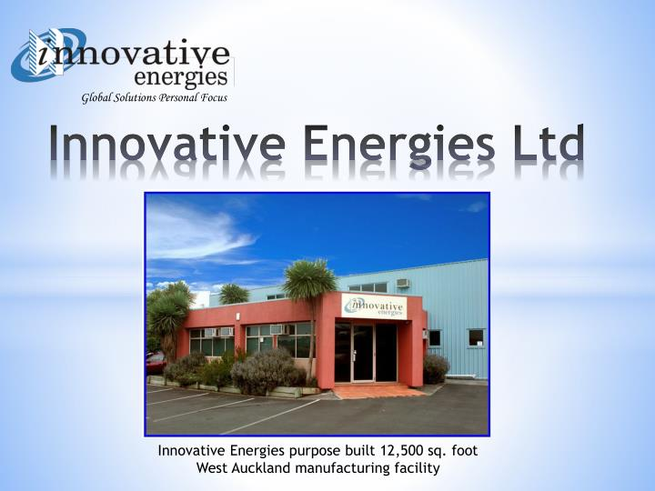 Innovative energies ltd