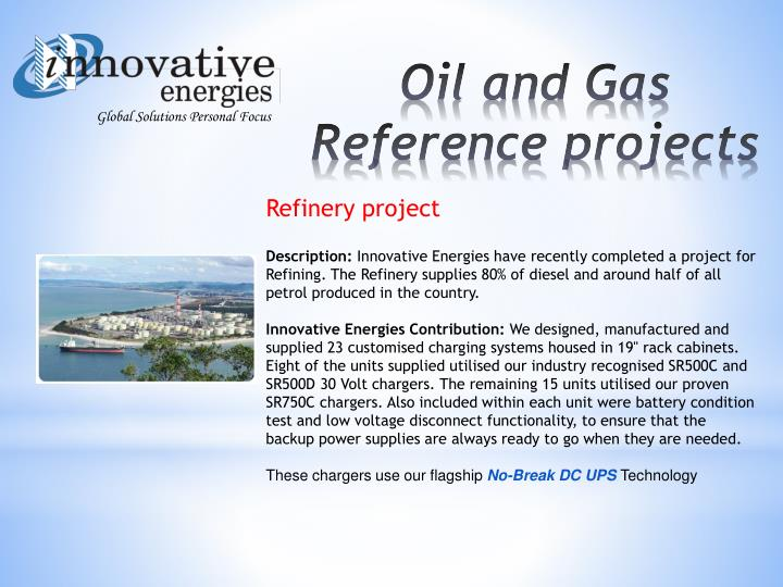 Refinery project