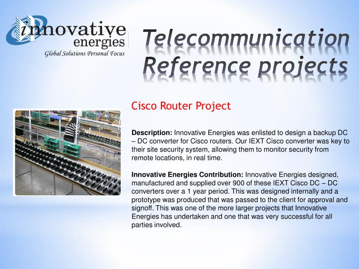 Cisco Router Project