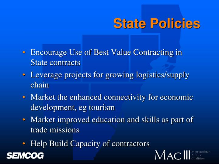 State Policies