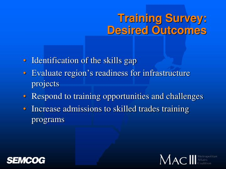 Training Survey: