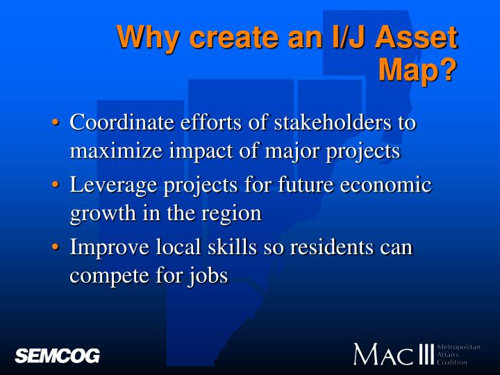 Why create an I/J Asset Map?
