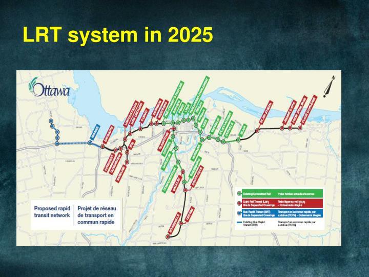 LRT system in 2025