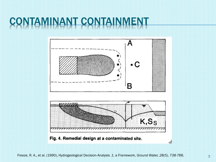 Contaminant containment