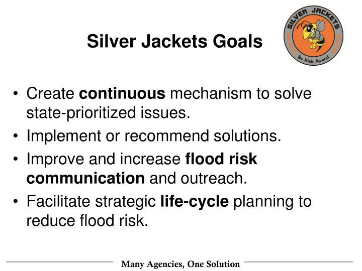 Silver Jackets Goals
