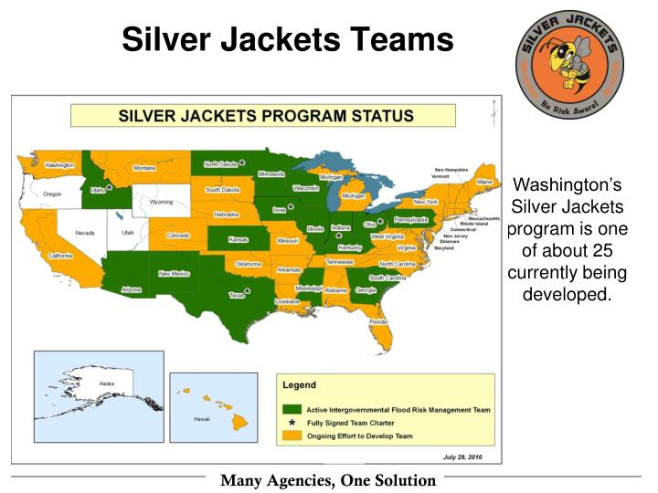 Silver Jackets Teams
