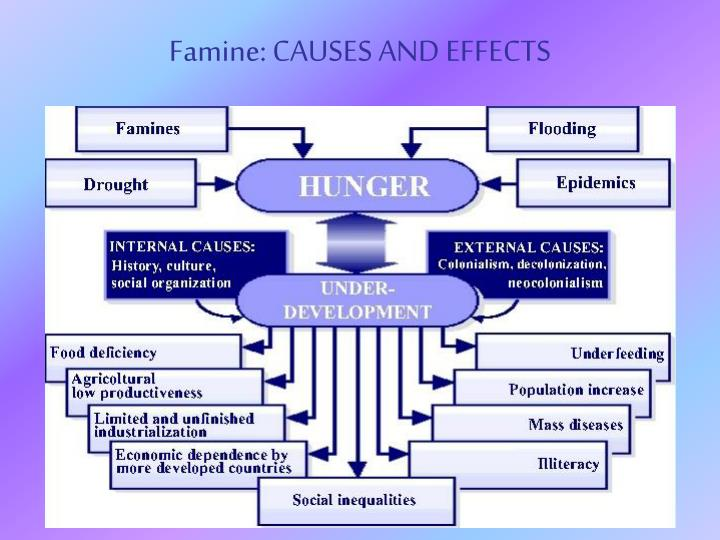 causes and effects of world hunger Check out the top 9 causes of world hunger  have a ripple effect in the countries that are already hit hardest in terms of hunger, poverty, and climate change .