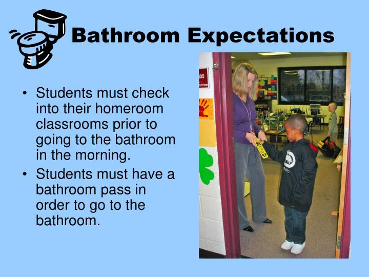 Bathroom Expectations