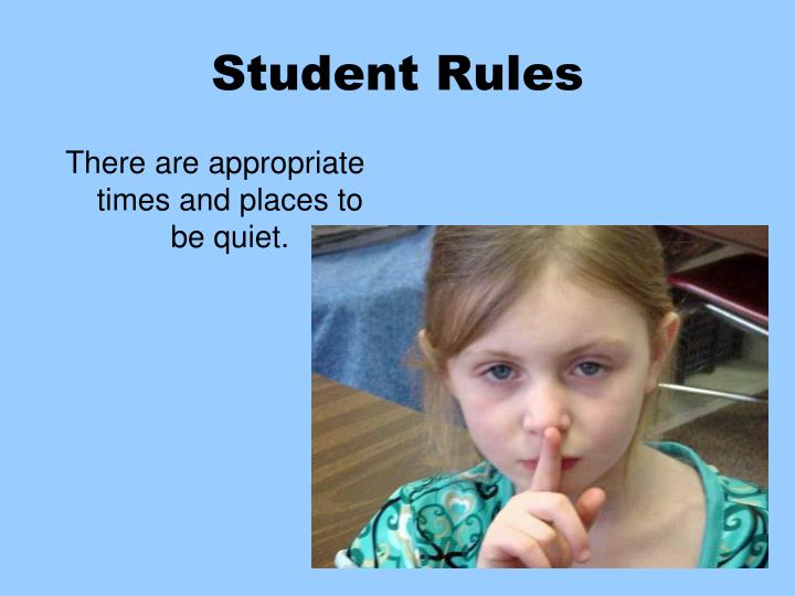 Student Rules