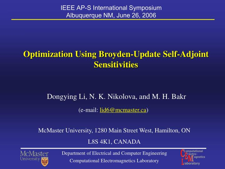 IEEE AP-S International Symposium