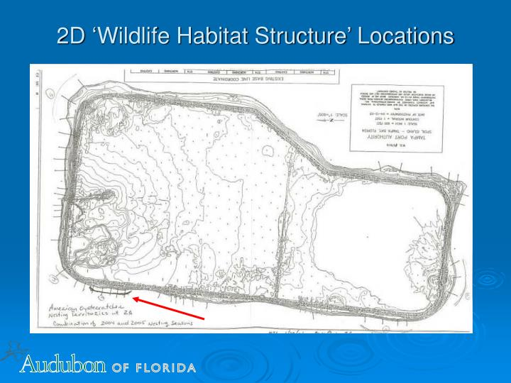 2D 'Wildlife Habitat Structure' Locations