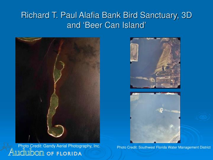 Richard T. Paul Alafia Bank Bird Sanctuary, 3D