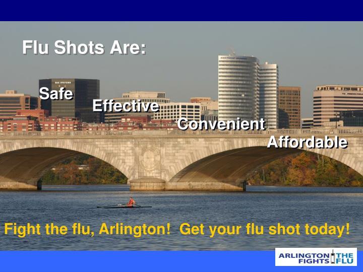 Flu Shots Are: