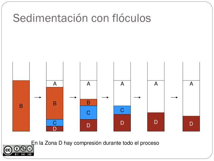 Sedimentación con flóculos