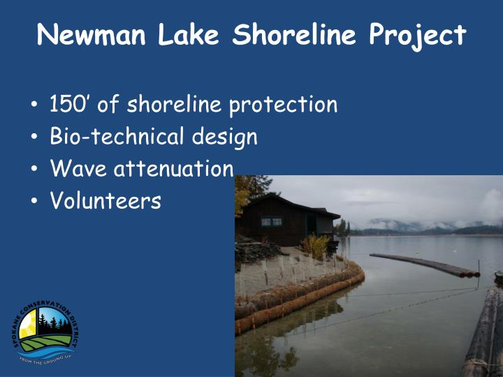 Newman Lake Shoreline Project