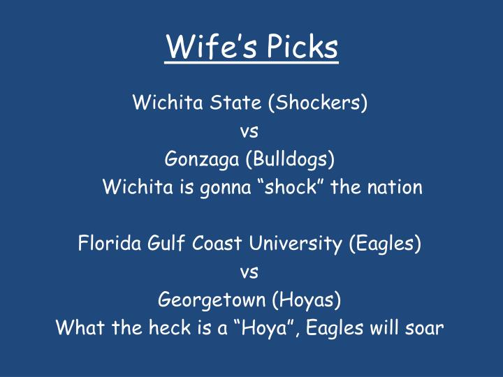 Wife s picks