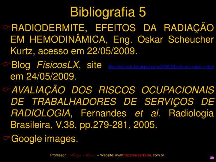 Bibliografia 5