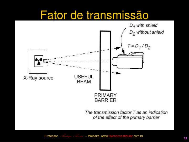 Fator de transmissão