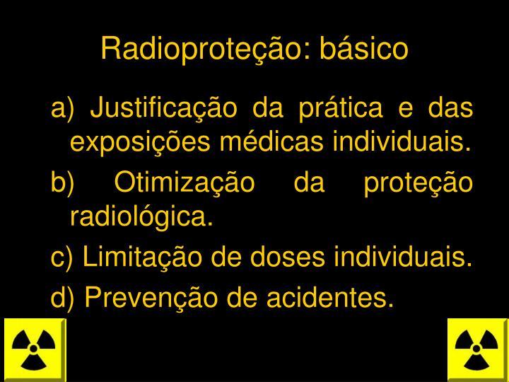 Radioproteção: básico