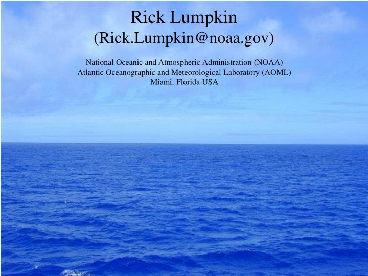 Rick Lumpkin