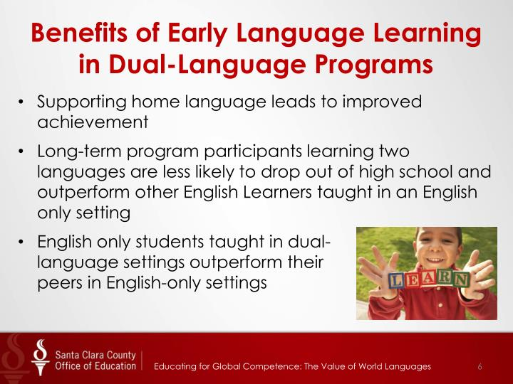 Benefits of Early Language Learning in Dual-Language Programs
