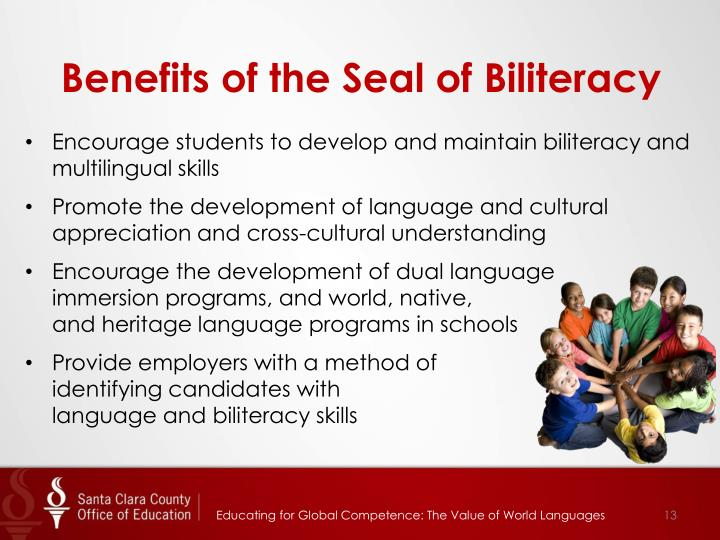 Benefits of the Seal of Biliteracy