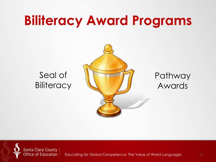 Biliteracy Award Programs